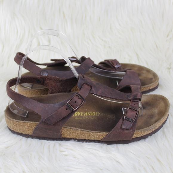 Strap Leather Sandals Narrow | Poshmark